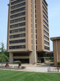 McClung Tower entrance